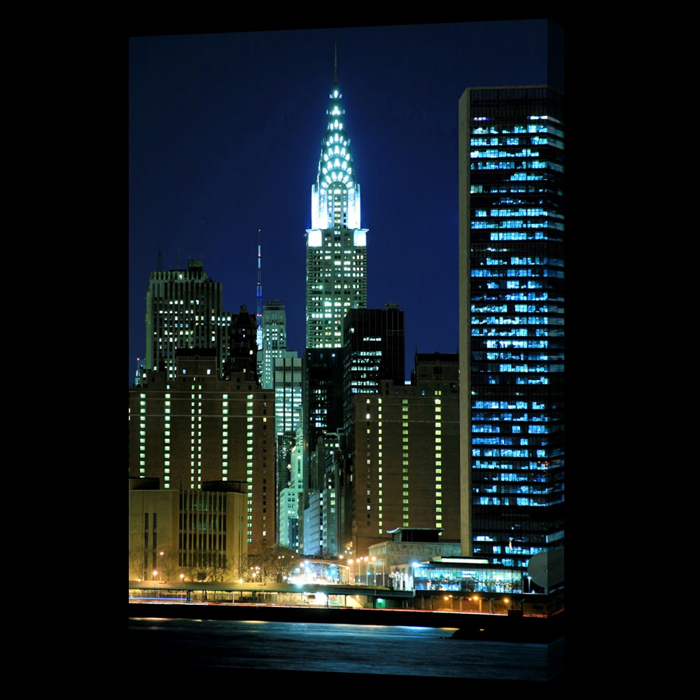 Chrysler Building Night | www.imgkid.com - The Image Kid ...