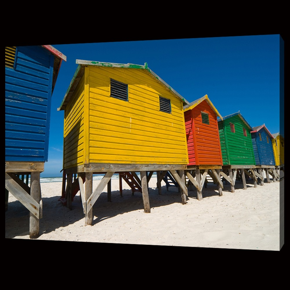 Colorful Cabanas Close Up