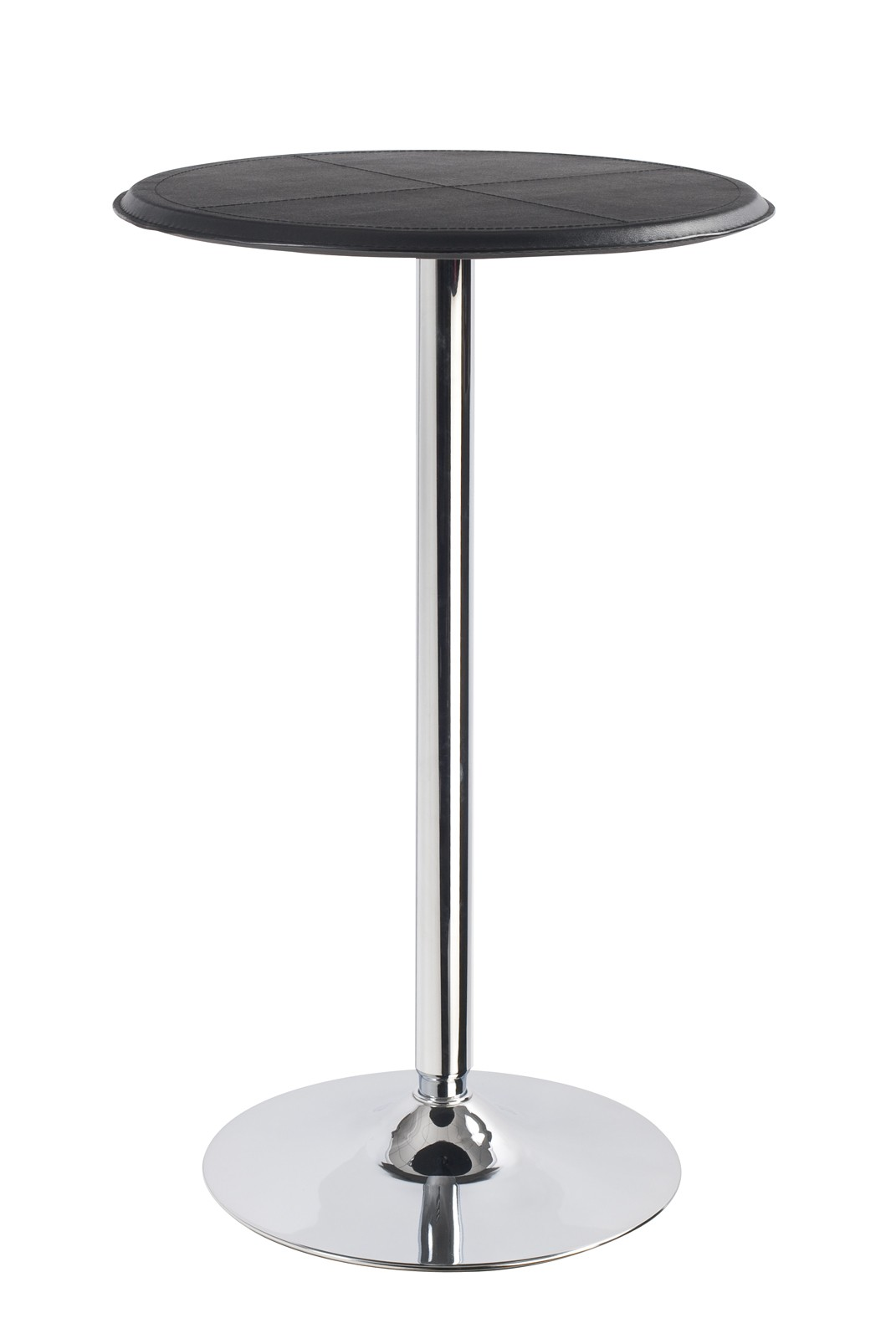 Round Bistro Table Black