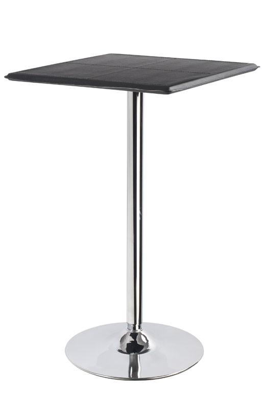 Square Bistro Table Black