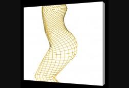 Yellow Fishnet