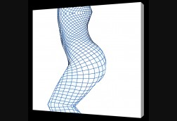 Blue Fishnet