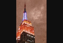 Empire State Tower at Night