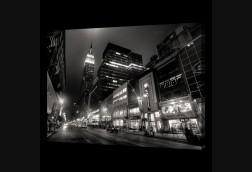 NYC Street in B&W