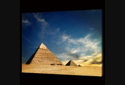 Egyptian Pyramids by Day