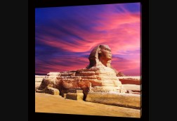 Sphinx at Dusk