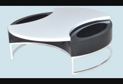 Swivel B/W Coffee Table
