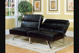 Oxford Faux Leather Sofa Bed