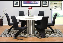 Presidio Round w/ Lazy Susan 7-Piece Set
