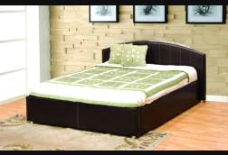 Gramercy Arched Espresso Bed w/ Bycast